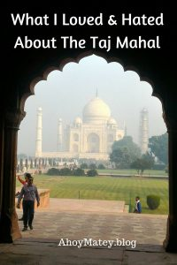 Taj Mahal Visit Blog