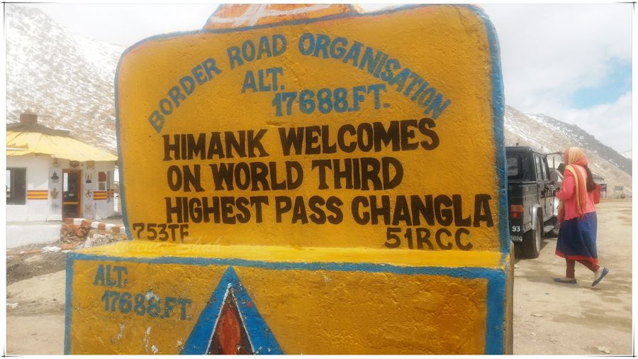 The Border Roads Organisation and Project Himank build and maintain these high-altitude roads