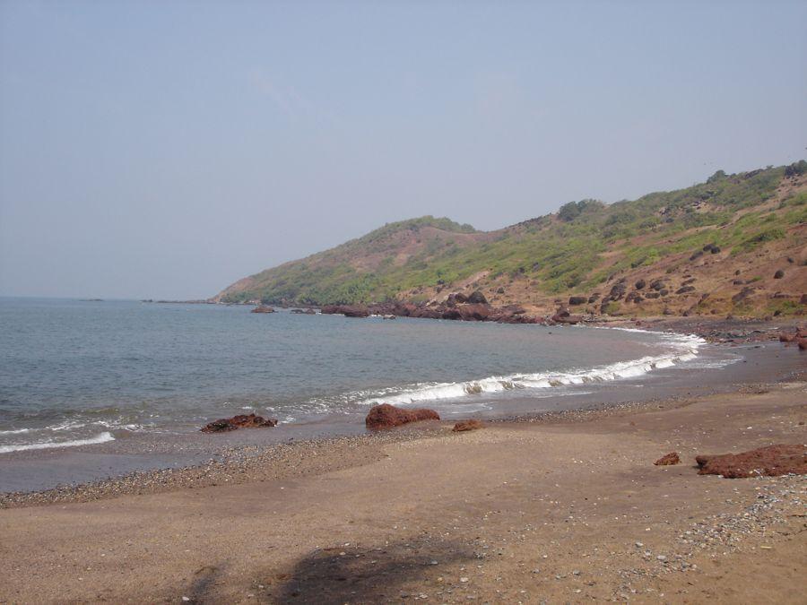 Anjuna Beach in the North of Goa