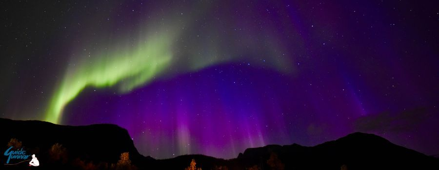 GuideGunnar shared this photo of the Aurora borealis taken on another day