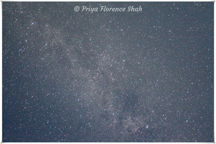 My attempts at photographing the Milky Way