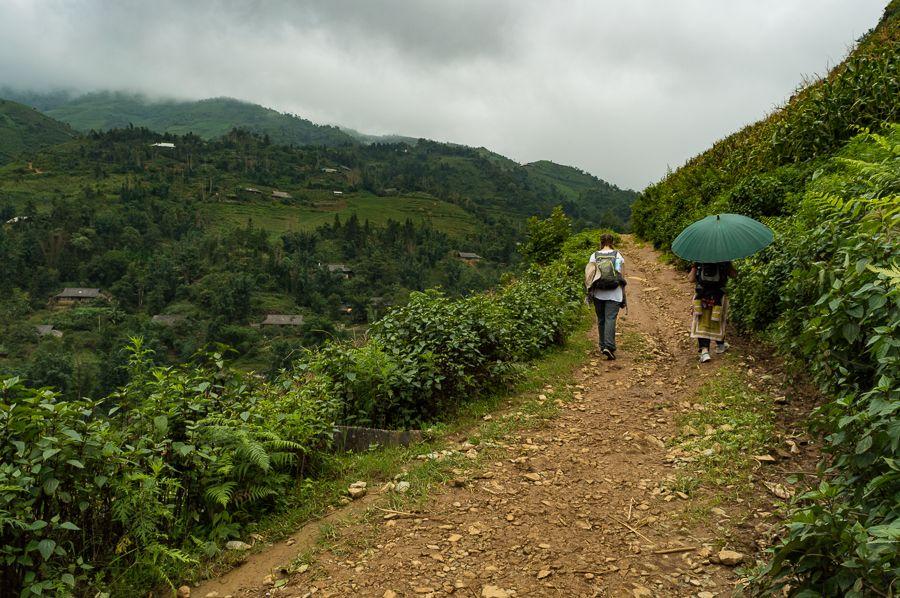 Hiking in SaPa, Vietnam