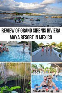 Review Of Grand Sirenis Riviera Maya Resort In Mexico